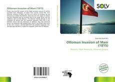 Bookcover of Ottoman Invasion of Mani (1815)