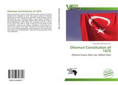 Bookcover of Ottoman Constitution of 1876