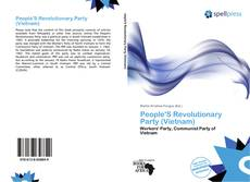 Bookcover of People'S Revolutionary Party (Vietnam)