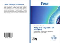 Bookcover of People'S Republic Of Hungary