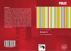 Bookcover of Anson's
