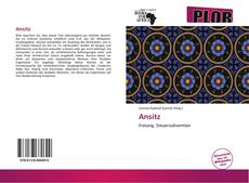 Bookcover of Ansitz