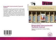 Beogradski Internacionalni Teatarski Festival kitap kapağı