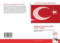 Portada del libro de Ottoman–Venetian War (1537–1540)