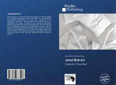 Antal Bolvári kitap kapağı