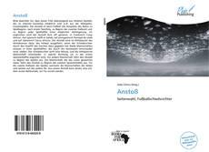 Portada del libro de Anstoß
