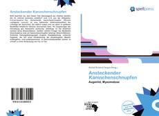 Ansteckender Kaninchenschnupfen kitap kapağı