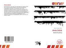 Ante Zelck的封面