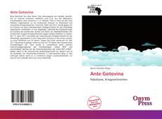 Portada del libro de Ante Gotovina