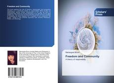 Bookcover of Freedom and Community