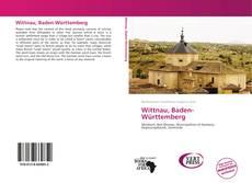 Buchcover von Wittnau, Baden-Württemberg