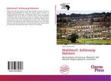 Bookcover of Wahlstorf, Schleswig-Holstein