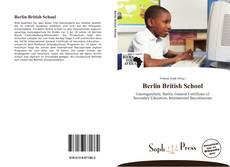 Portada del libro de Berlin British School