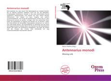 Bookcover of Antennarius monodi