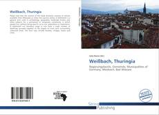 Bookcover of Weißbach, Thuringia