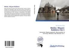 Bookcover of Weiler, Mayen-Koblenz