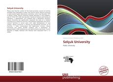 Bookcover of Selçuk University