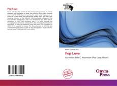 Portada del libro de Pep Love