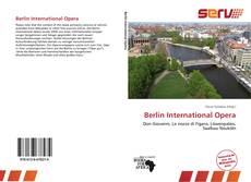 Copertina di Berlin International Opera