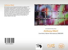 Bookcover of Anthony Obert