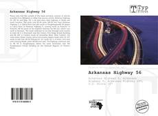Portada del libro de Arkansas Highway 56