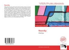 Borítókép a  Naursky - hoz