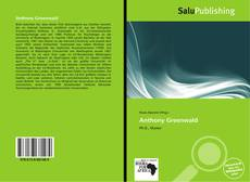 Bookcover of Anthony Greenwald