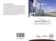 Portada del libro de Arkansas Highway 72