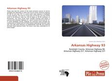 Portada del libro de Arkansas Highway 93