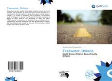 Teeswater, Ontario kitap kapağı