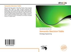 Couverture de Semantic Decision Table