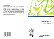 Bookcover of Roland AX-7