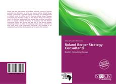 Bookcover of Roland Berger Strategy Consultants