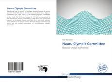 Обложка Nauru Olympic Committee
