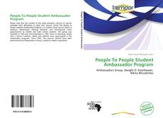 Couverture de People To People Student Ambassador Program