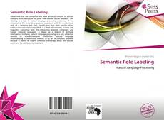 Bookcover of Semantic Role Labeling
