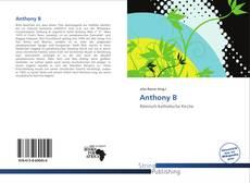 Buchcover von Anthony B