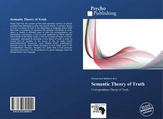 Bookcover of Semantic Theory of Truth