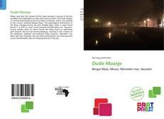 Portada del libro de Oude Maasje