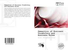 Semantics of Business Vocabulary and Business Rules的封面