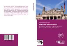Buchcover von Berliner (Einwohner)