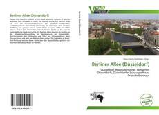 Berliner Allee (Düsseldorf) kitap kapağı