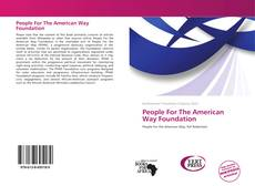 Обложка People For The American Way Foundation