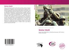 Buchcover von Walter Weiß