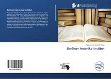 Capa do livro de Berliner Amerika-Institut