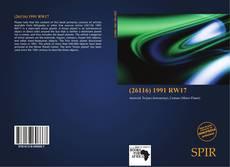 (26116) 1991 RW17 kitap kapağı