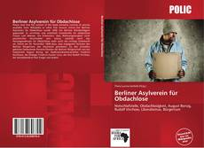 Berliner Asylverein für Obdachlose kitap kapağı