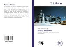 Bookcover of Berliner Aufklärung