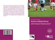 Buchcover von Berliner Ballspiel-Bund