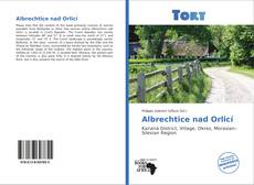 Bookcover of Albrechtice nad Orlicí